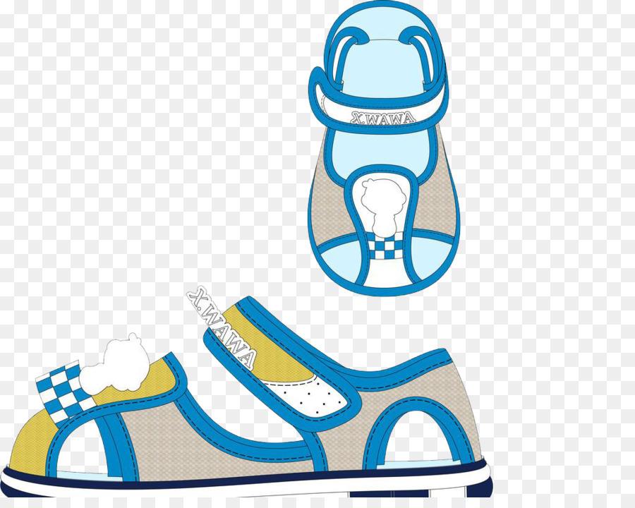 Child-s cartoon sneaker clipart banner freeuse Child Cartoon png download - 1024*802 - Free Transparent Sandal png ... banner freeuse