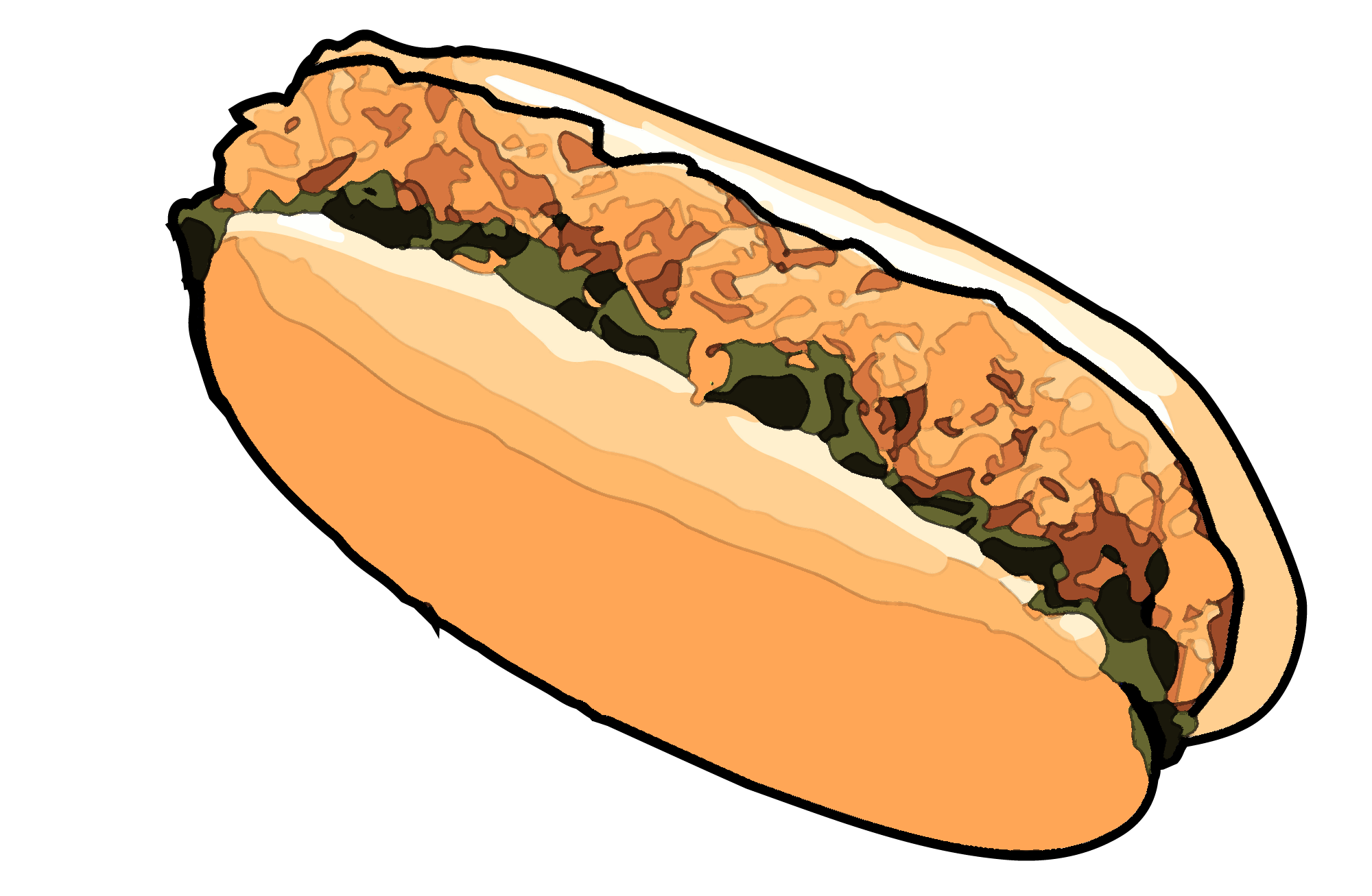 Chili cheese dog clipart image library library Discontinued Fast Food Items in the PH Employees Wish to Return image library library