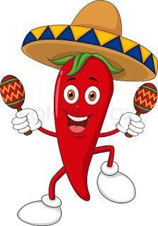 Chili clipart funny