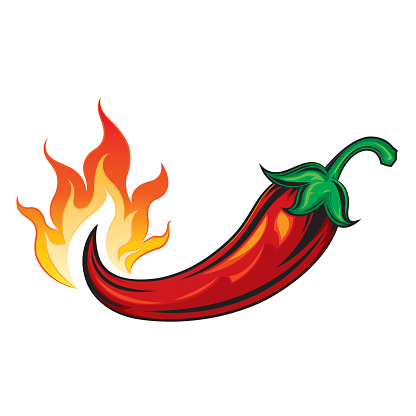 Chili with flame clipart clip art library library Free Hot Pepper Cliparts, Download Free Clip Art, Free Clip Art on ... clip art library library