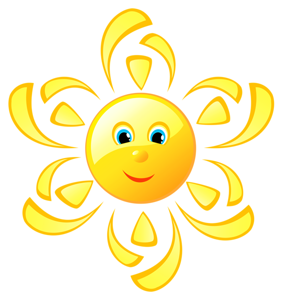 Parts of the sun clipart vector free stock Cute Sun PNG Clipart Picture | НЕБО | Pinterest | Smileys, Smiley ... vector free stock