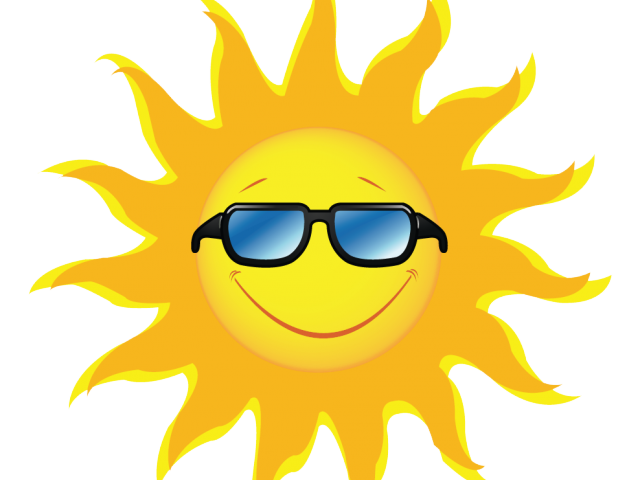 Vintage sun with sunglasses clipart png free Picture Of Sun Rays Free Download Clip Art - carwad.net png free