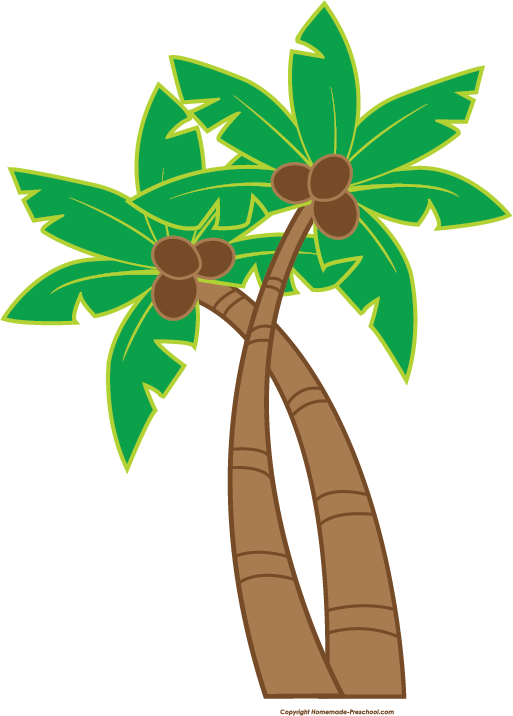 Free sun palm clipart jpg library download Fun and free luau clipart, ready for PERSONAL and COMMERCIAL ... jpg library download