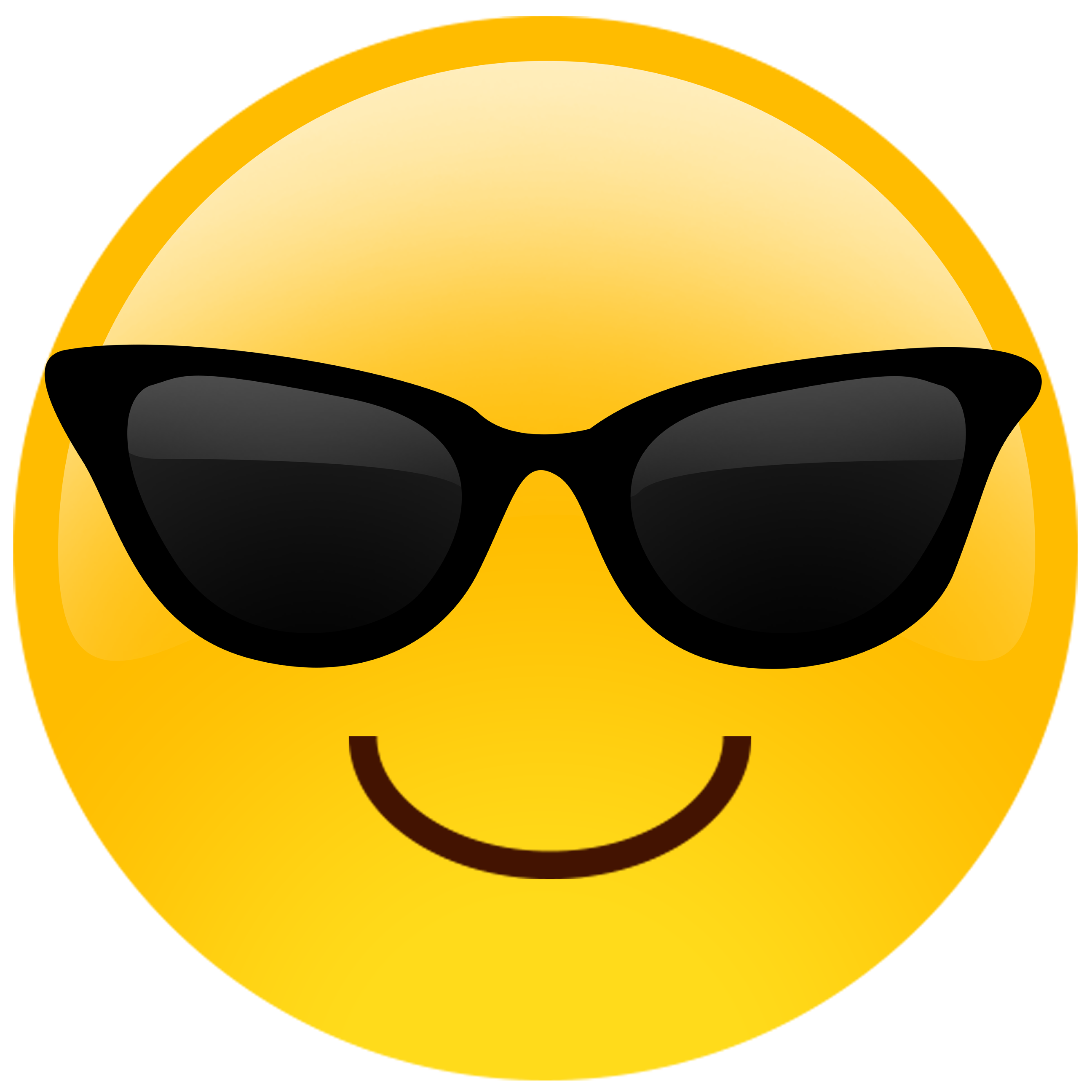 Nerd glasses clipart with apple image transparent stock Sunglasses Emoji Cutouts | Pinterest | Emoji, Big head cutouts and ... image transparent stock