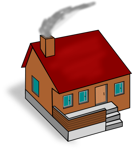 Chimney with smoke clipart graphic free library Chimney Smoke Cliparts - Cliparts Zone graphic free library
