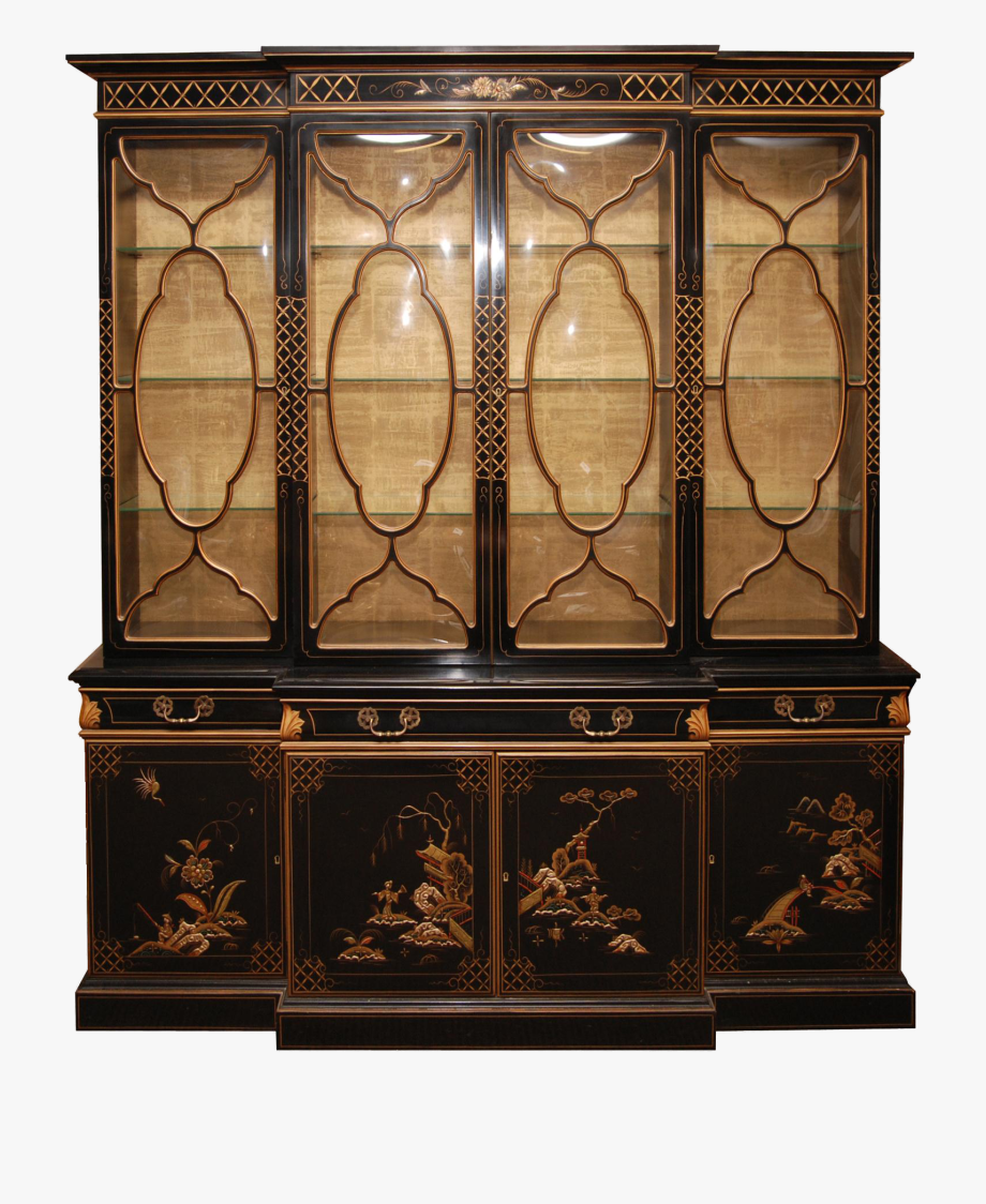 China cabinet clipart image transparent library China Cabinet Png Clipart - Antique Furniture Png #143492 - Free ... image transparent library