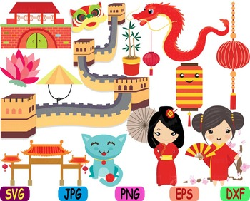 China clipart png freeuse library Kawaii Chinese Japanese Asian china clipart svg zodiac food props Dolls  Toys 88s png freeuse library