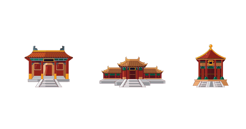 China house clipart svg freeuse Cartoon Stock photography Royalty-free Clip art - City gate tower ... svg freeuse