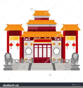 China house roof cliparts jpg freeuse library Chinese House Clipart | Free Images at Clker.com - vector clip art ... jpg freeuse library