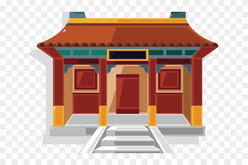 China houses roof cliparts svg free library Shed Clipart Old Building - Chinese House Cartoon Png, Transparent ... svg free library