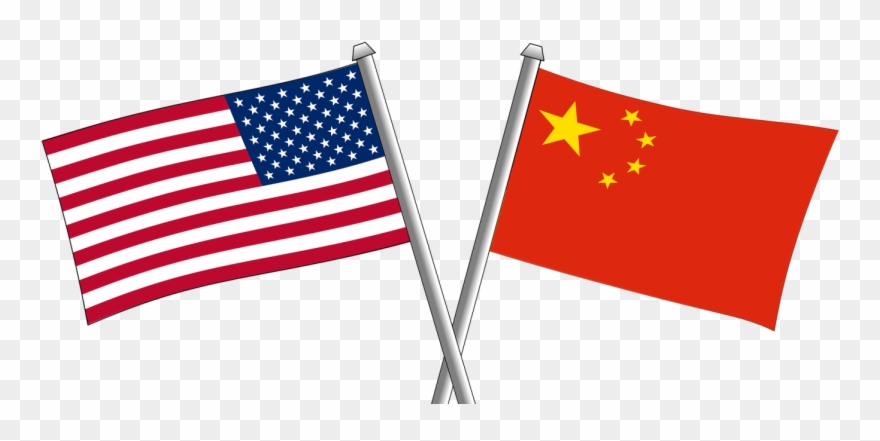 China usa clipart png black and white library President Hedging As March 1st Tariff Increases Loom, - Chinese ... png black and white library