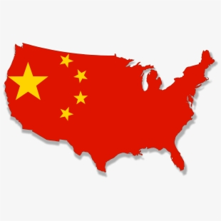 China usa clipart clip library Usa Flag Png Map - China Map And Flag , Transparent Cartoon, Free ... clip library