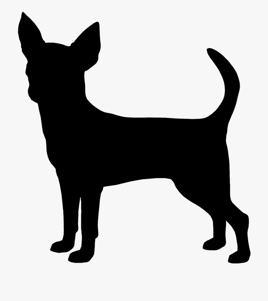 Chinahuahuas clipart clip royalty free library Chihuahua Clipart Chihuahua Silhouette - Silhouette Chihuahua Clip ... clip royalty free library