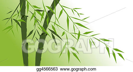 Chinese bamboo tree clipart png library Stock Illustration - Design of chinese bamboo trees. Clipart Drawing ... png library
