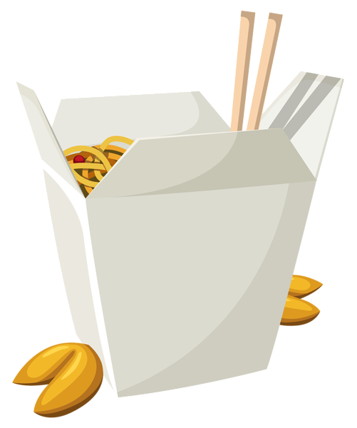 Chinese box clipart graphic black and white stock Chinese Food in Box PNG Vector Clipart | Gallery Yopriceville ... graphic black and white stock
