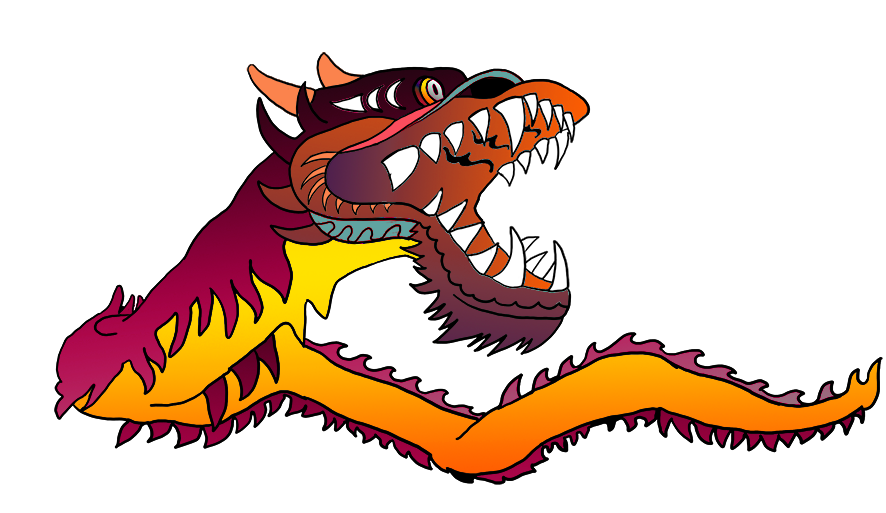 Chinese fish clipart jpg library Great Pictures of Cool Dragons jpg library