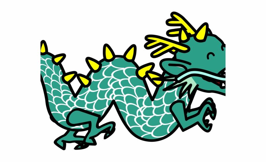 Oriental dragon clipart jpg Komodo Dragon Clipart Simple Cartoon , Png Download - Cute Chinese ... jpg