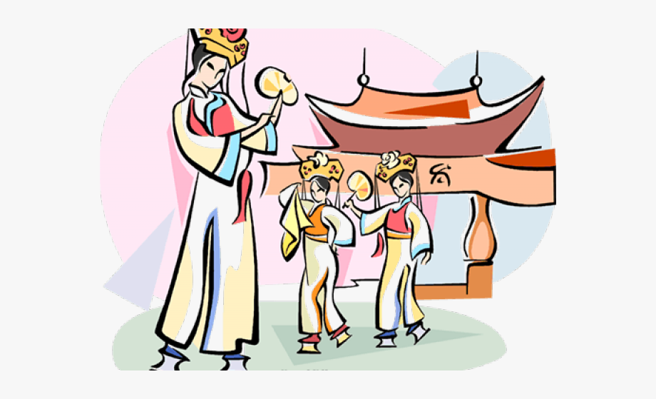 Chinese dancer clipart graphic free download Traditional Clipart Chinese Dancer - Chinese Traditional Dance ... graphic free download