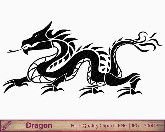 Chinese dragon tail clipart clip Dragon tattoo idea | Dragons in 2019 | Red dragon, Red dragon tattoo ... clip