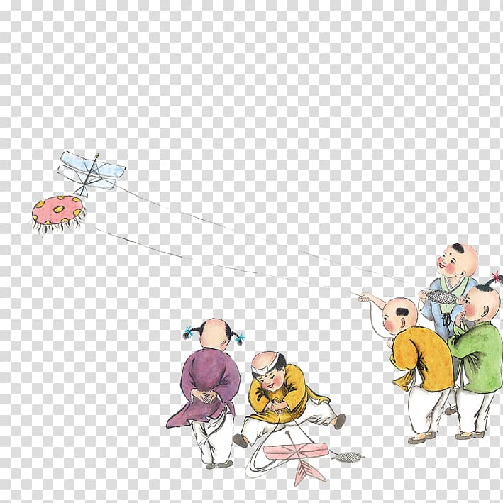 Chinese kite clipart banner freeuse China Qingming Chunfen Kite Traditional Chinese holidays, Children ... banner freeuse