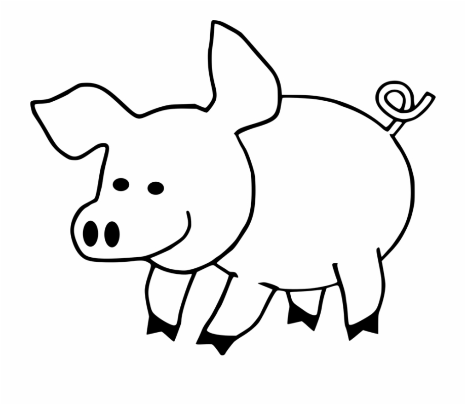 Chinese new year animals clipart image free library Farm Animals Clipart Baboy - Chinese New Year Printables 2019 Free ... image free library