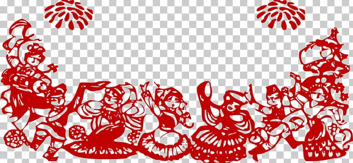 Chinese new year envelope clipart black and white clip royalty free Chinese New Year Silhouette Papercutting Chinese Paper Cutting Red ... clip royalty free