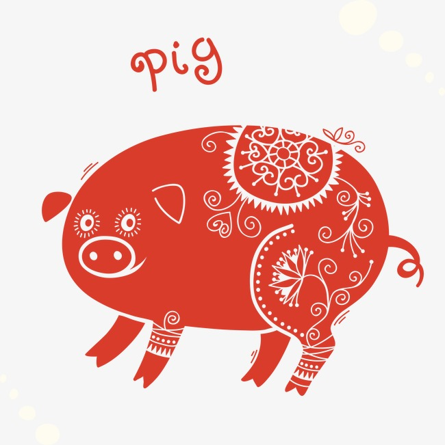 Chinese new year pig clipart clip art black and white library Year Of The Pig Png & Free Year Of The Pig.png Transparent Images ... clip art black and white library