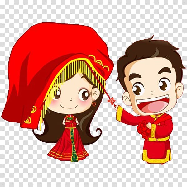 Chinese wedding clipart