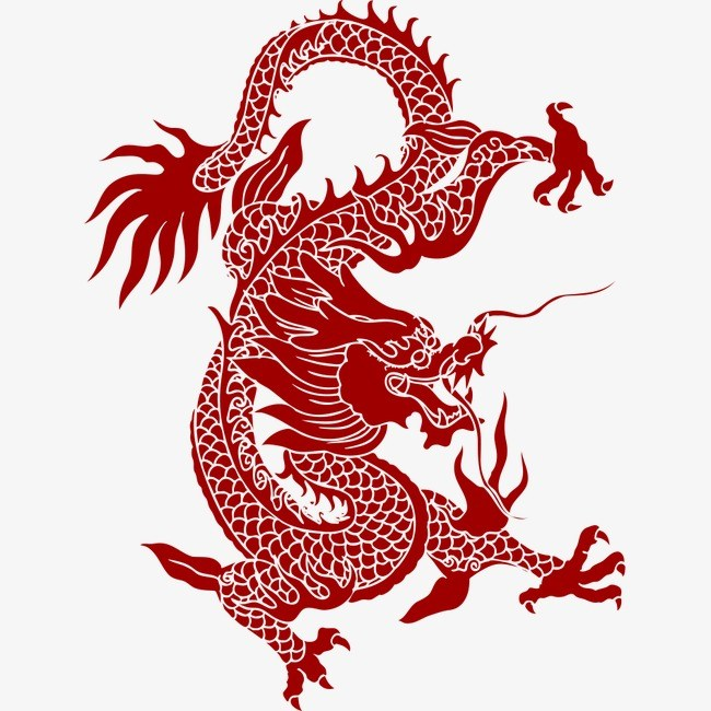 Chinesedragon clipart black and white Free chinese dragon clipart 4 » Clipart Portal black and white