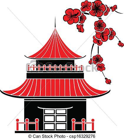 Chinesisches haus clipart jpg freeuse stock Chinesisches haus clipart - ClipartFest jpg freeuse stock