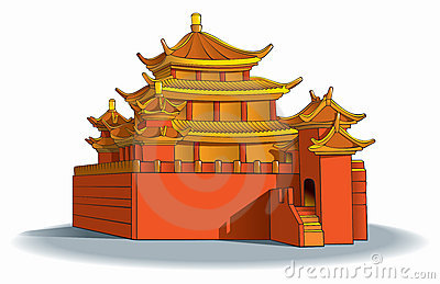 Chinesisches haus clipart. Clipartfest chinesische pagode