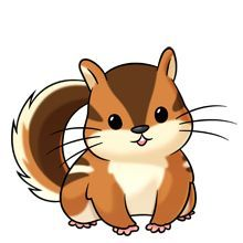 Chipmunk clipart free graphic black and white Chipmunk - Lots of clip art on this site   Make it yourself ... graphic black and white