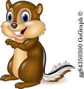 Free chipmunk clipart jpg transparent download Chipmunk Clip Art - Royalty Free - GoGraph jpg transparent download