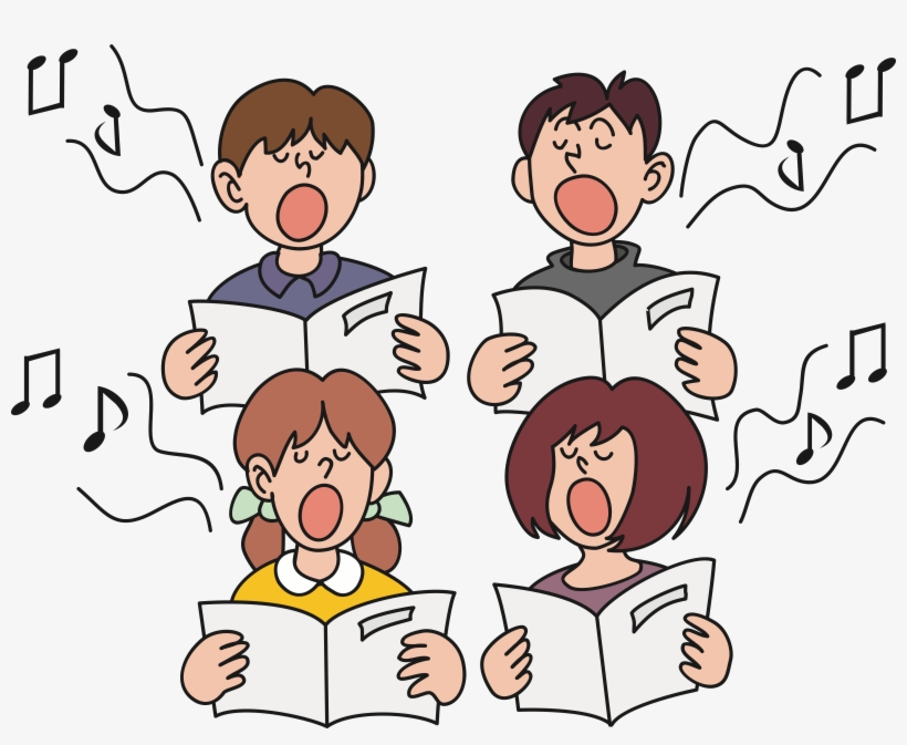 Chipr clipart svg free download Image Transparent Library Boy Singing Clipart - Choir Clipart ... svg free download