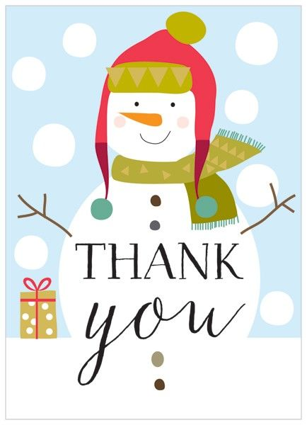 Chirstmas thank you clipart picture stock Christmas thank you snowman thank you clipart free - WikiClipArt picture stock