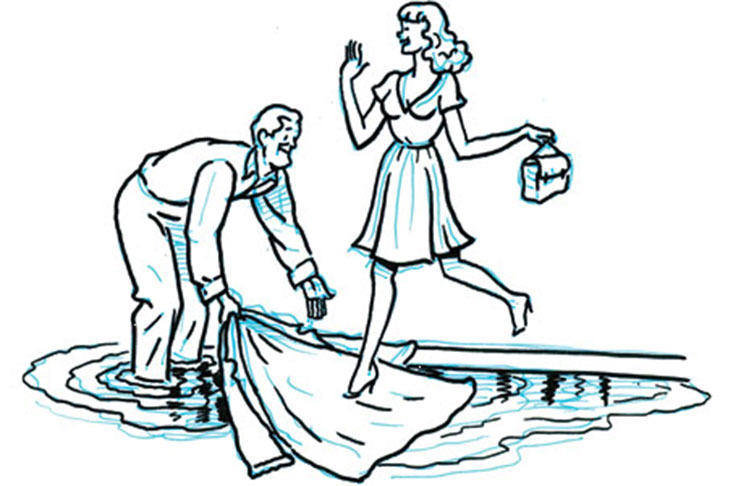 Chilvery clipart graphic transparent stock Is Feminism responsible for the lack of Chivalry? - Guyana Chronicle graphic transparent stock