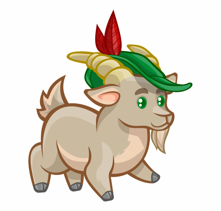 Chivo clipart jpg free stock Goat Clipart Chivo - ภาพ การ์ตูน แพะ น่า รัก ๆ Free PNG Images ... jpg free stock