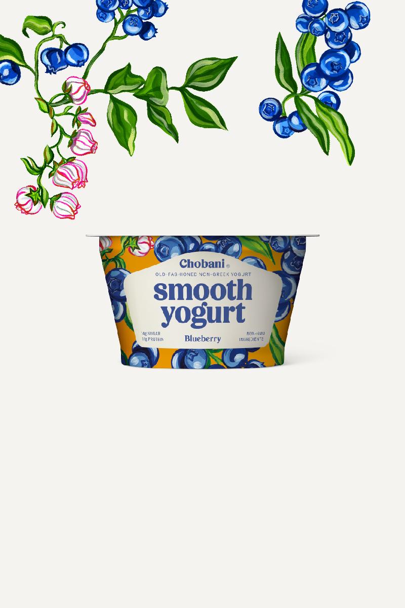 Chobani logo clipart jpg library download Chobani® Smooth Non-Greek Yogurt | Blueberry Cup | Chobani® jpg library download