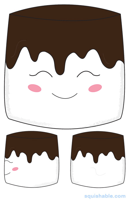 Chocolate and marshmallows clipart image royalty free library squishable.com: Squishable Chocolate-Dipped Marshmallow image royalty free library