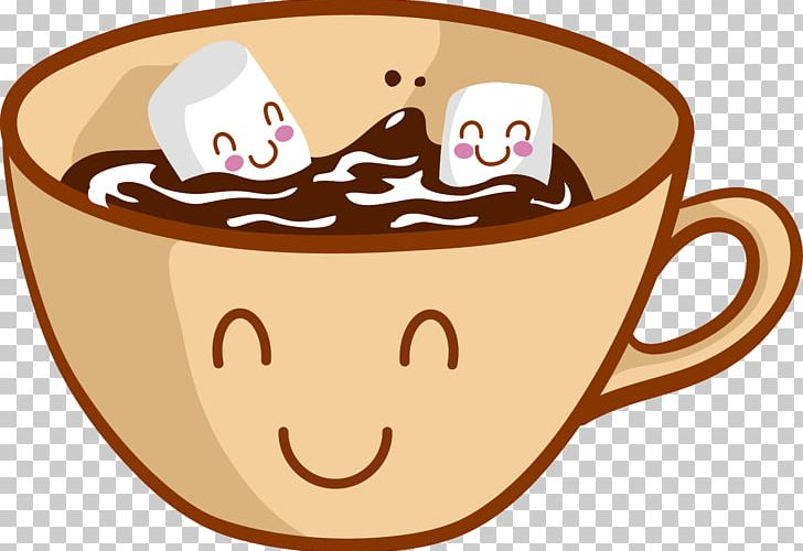 Chocolate and marshmallows clipart png transparent library Hot Chocolate Chocolate Chip Cookie Cartoon Marshmallow PNG, Clipart ... png transparent library