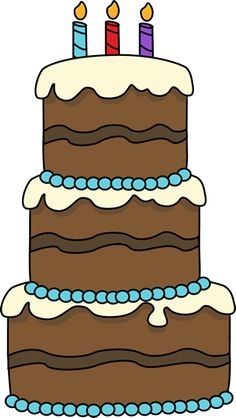 Chocolate birthday cake clipart jpg transparent download Cute Birthday Cake Clipart | Gallery Free Clipart Picture… Cakes ... jpg transparent download