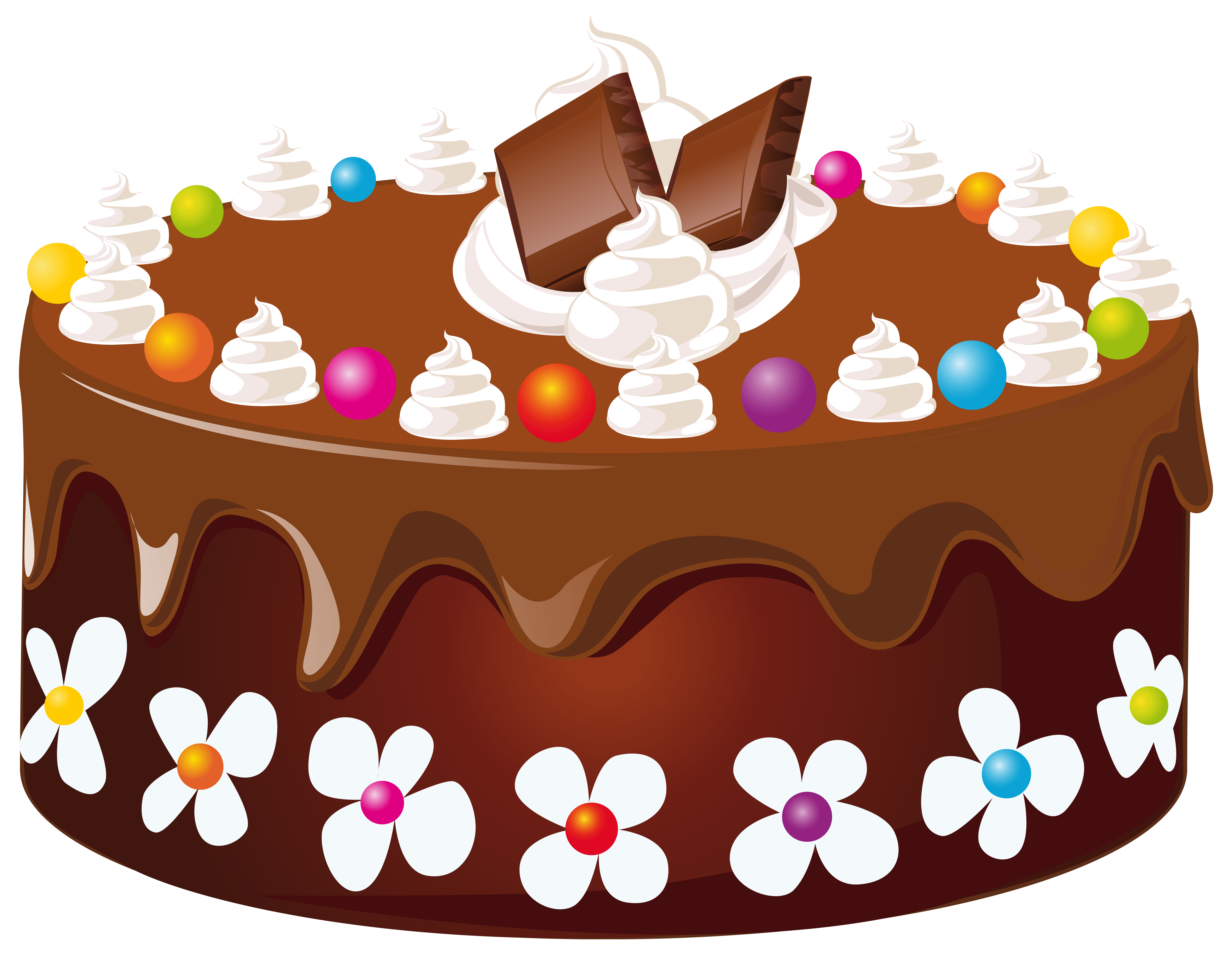 Free clipart of cake svg black and white Chocolate Cake PNG Clipart Image | Gallery Yopriceville - High ... svg black and white
