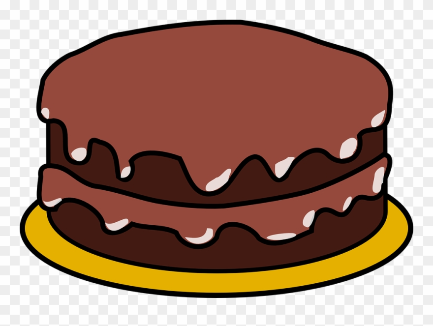 Chocolate cake clipart freeuse download Chocolate Cake Clipart - Png Download (#90201) - PinClipart freeuse download