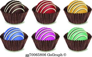 Chocolate candy clipart transparent download Chocolate Candy Clip Art - Royalty Free - GoGraph transparent download