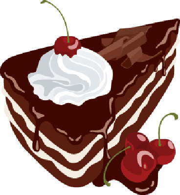Chocolate cherry cake clipart graphic transparent library Black Forest Cake | Clipart | PBS LearningMedia graphic transparent library