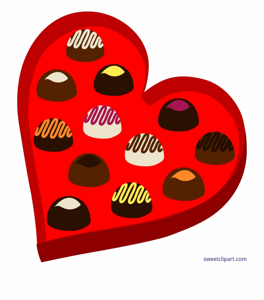 Chocolate clipart box png royalty free stock Image Royalty Free Download Chocolate Heart Box Clip - Box Of ... png royalty free stock