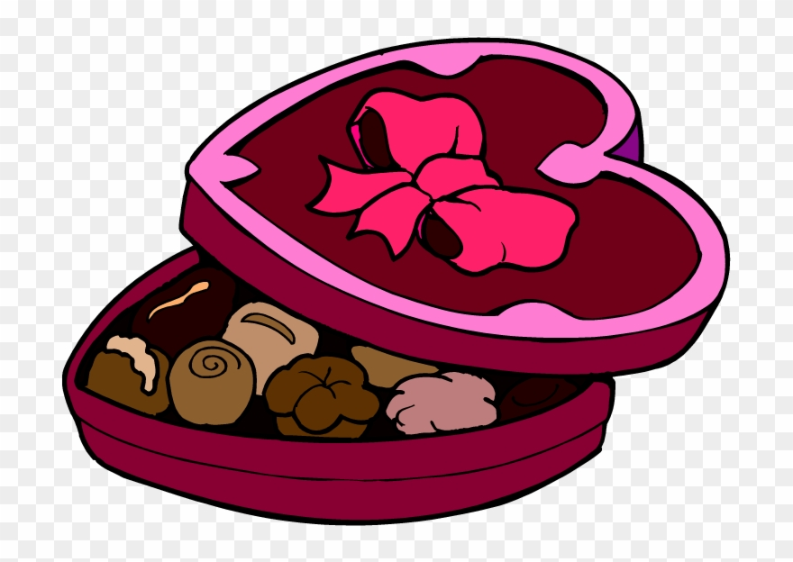 Valentine chocolates clipart clip royalty free stock Religious Valentine Day Clipart Images Pictures Amp - Box Of ... clip royalty free stock