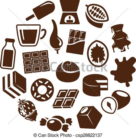 Chocolate clipart icons vector freeuse library Chocolate Icon #236466 - Free Icons Library vector freeuse library