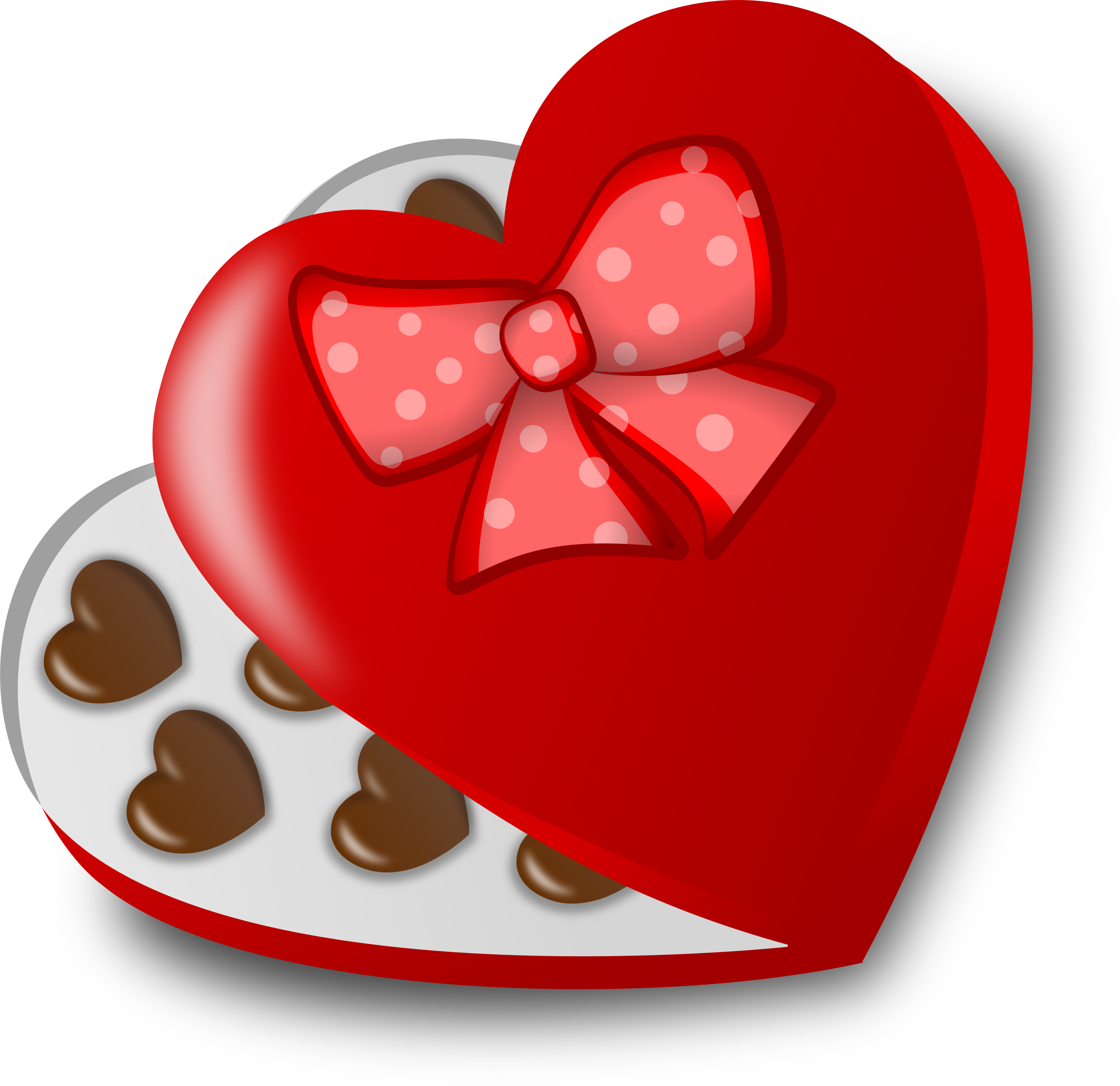 Chocolate heart clipart svg free Clipart - Box of chocolates svg free