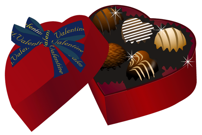 Chocolate heart clipart clip download Valentine Chocolate Clipart – Valentine's Day Info clip download